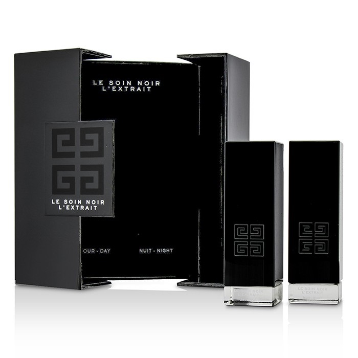 Givenchy Le Soin Noir L'Extrait: L'Extrait Day Serum 15ml/0.5oz + L'Extrait Night Serum 15ml/0.5oz
