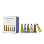 Crabtree & Evelyn Super Six Ultra-Moisturising Hand Therapy Set: Pomegranate + Citron + Gardeners + La Source + Avocado + Verbena