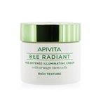 Apivita Bee Radiant Age Defense Illuminating Cream - Rich Texture