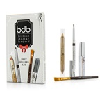 Billion Dollar Brows Best Sellers Kit: 1x Universal Brow Pencil 0.27g/0.009oz, 1x Brow Duo Pencil 2.98g/0.1oz, 1x Smudge Brush, 1x Brow Gel 3ml/0.1oz