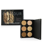 Youngblood Contour Palette For All Skin Tones (3x Highlight Shades, 3x Contouring Shades)