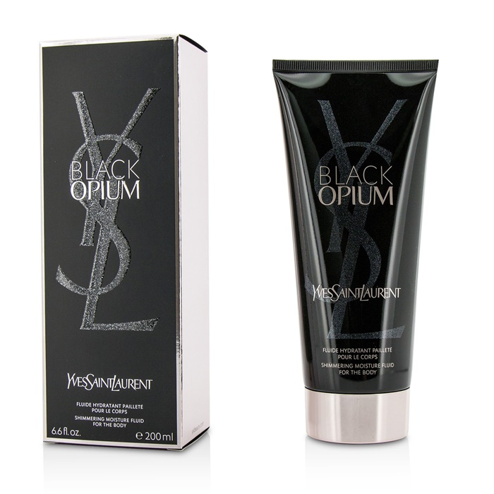 Yves Saint Laurent Black Opium Shimmering Moisture Fluid For The Body