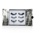 Eylure The London Edit False Lashes Multipack - # 121, # 117, # 154 (Adhesive Included)