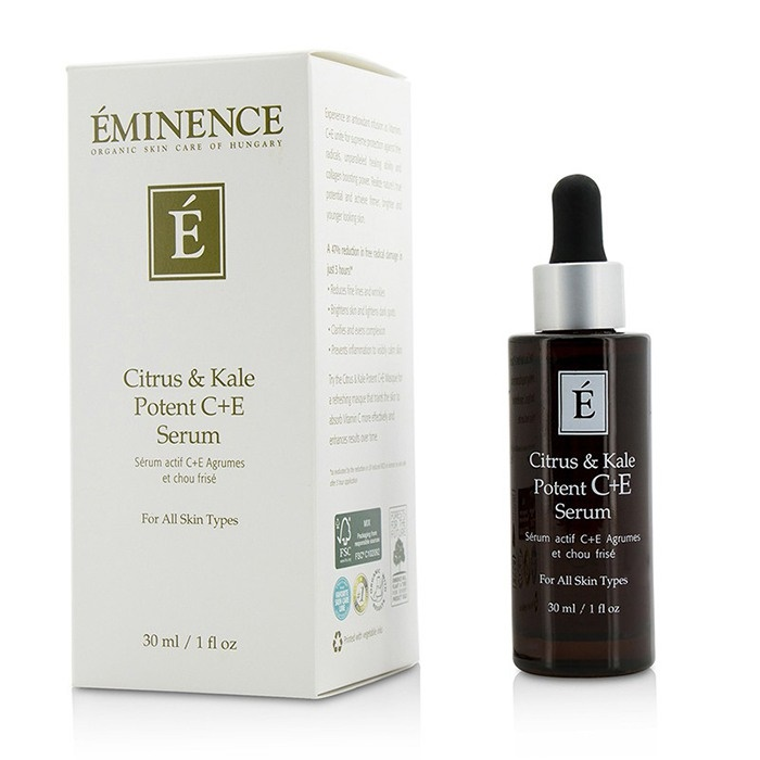 Eminence Citrus & Kale Potent C+E Serum - For All Skin Types