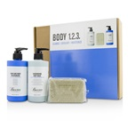 Baxter Of California Body 1.2.3 Kit: Body Wash 300ml + Hand & Body Moisturizer 300ml + Body Bar 198g