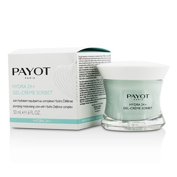Payot Hydra 24+ Gel-Creme Sorbet Plumpling Moisturing Care - For Dehydrated, Normal to Combination Skin