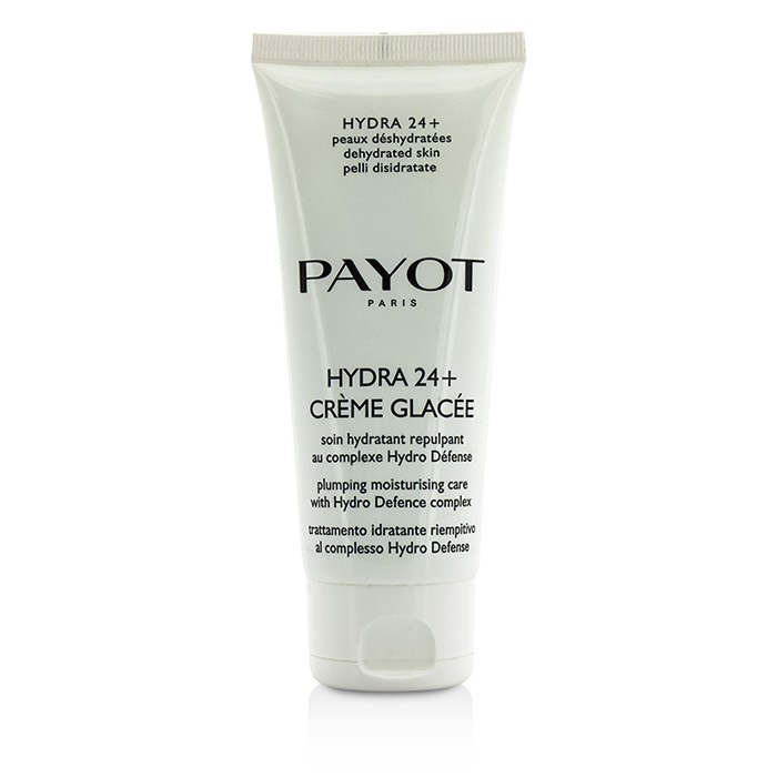 Payot Hydra 24+ Creme Glacee Plumpling Moisturizing Care - For Dehydrated, Normal to Dry Skin (Salon Size)