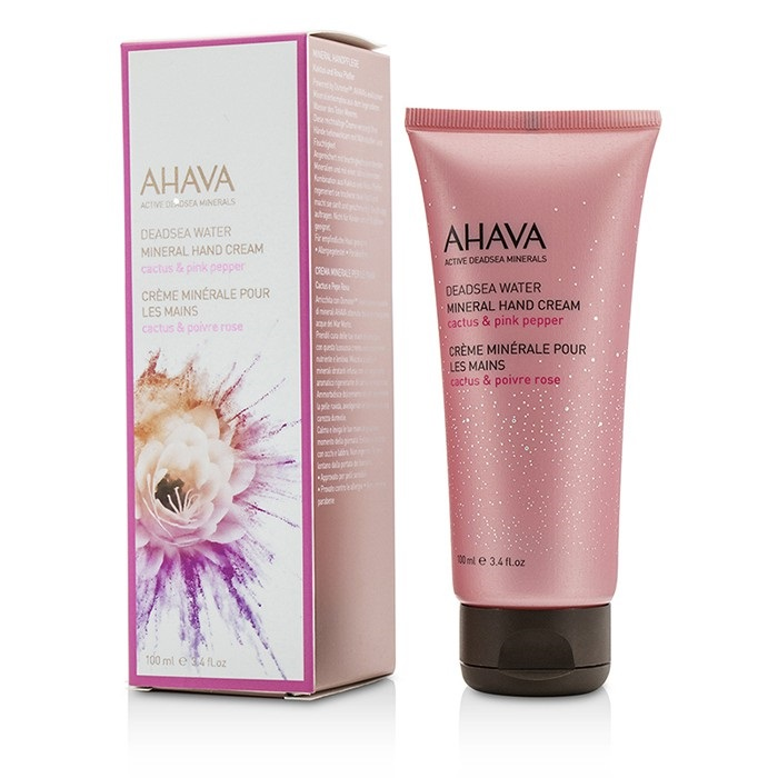 Ahava Deadsea Water Mineral Hand Cream - Cactus & Pink Pepper