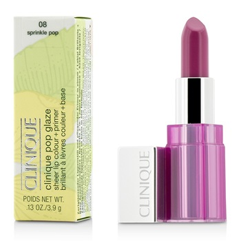 Clinique Pop Glaze Sheer Lip Colour + Primer  - # 08 Sprinkle Pop