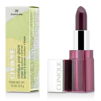 Clinique Pop Glaze Sheer Lip Colour + Primer  - # 09 Licorice Pop