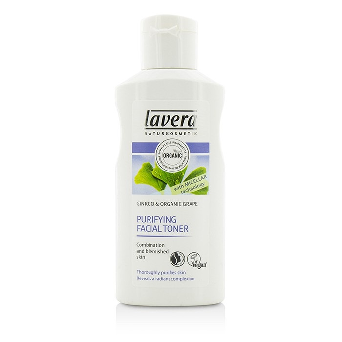 Lavera Organic Ginkgo & Grape Purifying Facial Toner (for Combination & Blemished Skin)  125ml/4.1oz Magnolia Orchid  1.7-ounce Anti-Blemish Cream