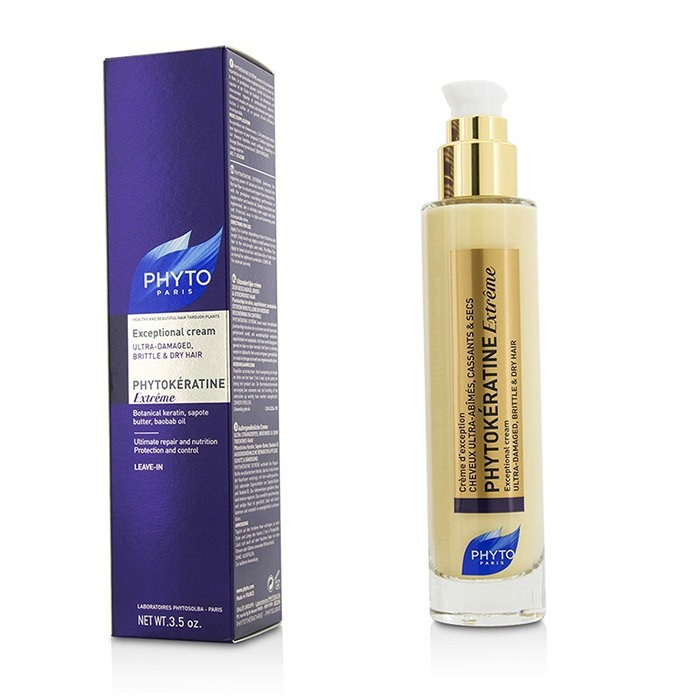 Phyto Phytokeratine Extreme Exceptional Cream (Ultra-Damaged, Brittle & Dry Hair)