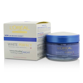 L'Oreal Dermo-Expertise White Perfect Soothing Cream Night (Manufacture Date: 09/2013)