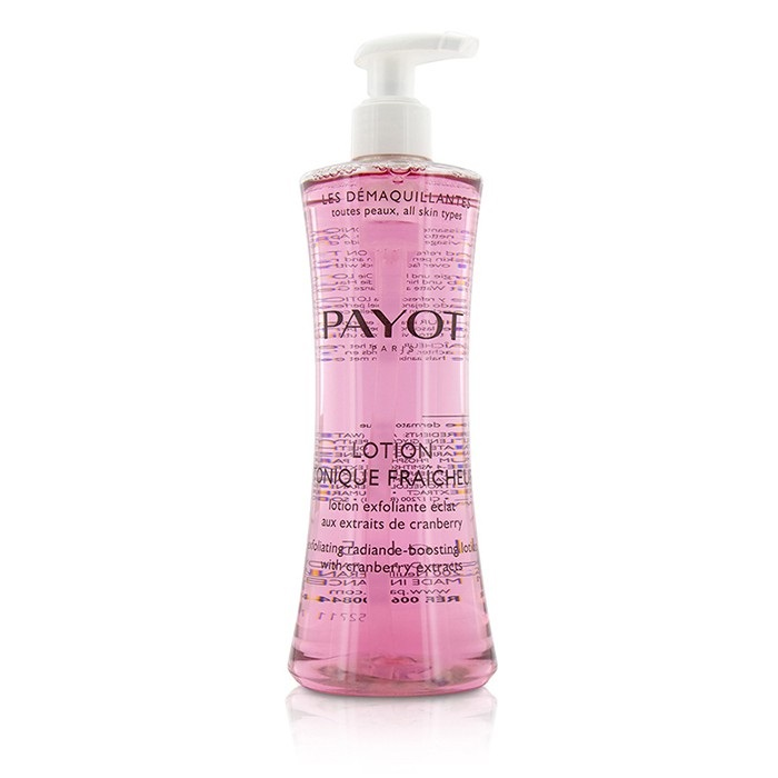 Payot Les Demaquillantes Lotion Tonique Fraicheur Exfoliating Radiance-Boosting Lotion - For All Skin Types