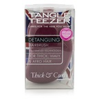 Tangle Teezer Thick & Curly Detangling Hair Brush - # Dark Red (For Thick, Curly and Afro Hair)
