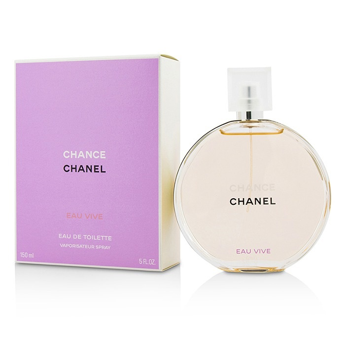NEW Chanel Chance Eau Vive EDT Spray 150ml Perfume | eBay