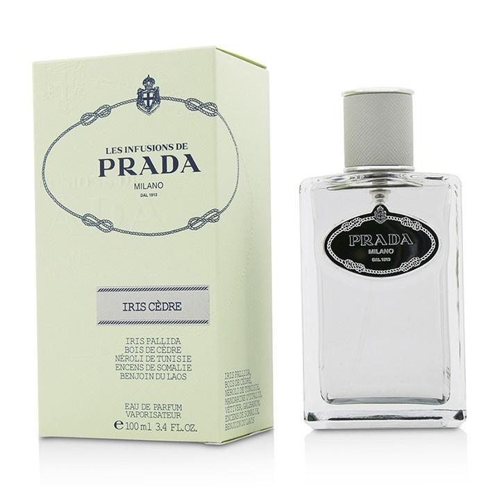 b30395994 NEW Prada Les Infusions Iris Cedre EDP Spray 3.4oz Womens Women's ...