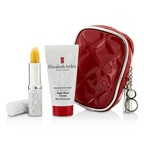 Elizabeth Arden Eight Hour Cream Set: Eight Hour Cream Skin Protectant Fragrance Free 28g/1oz + Lip Protectant Stick SPF 15 3.7g/0.13oz + Bag