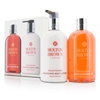 Molton Brown Sensual Hanaleni Bath & Body Set: Bath & Shower Gel 300ml/10oz + Nourishing Body Lotion 300ml/10oz