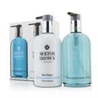 Molton Brown Blue Maquis Hand Care Set: Fine Liquid Hand Wash 300ml/10oz + Soothing Hand Lotion 300ml/10oz
