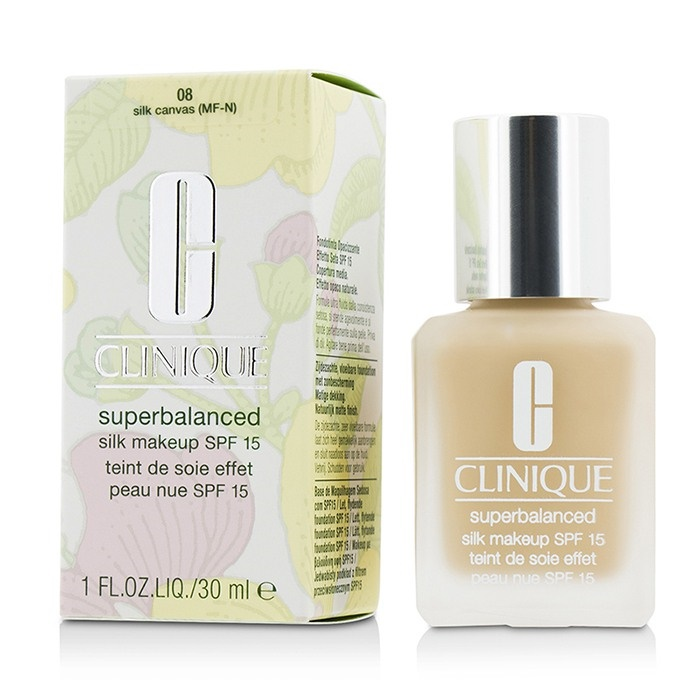 Clinique Superbalanced Silk Makeup SPF 15 - # 08 Silk Canvas (MF-N)