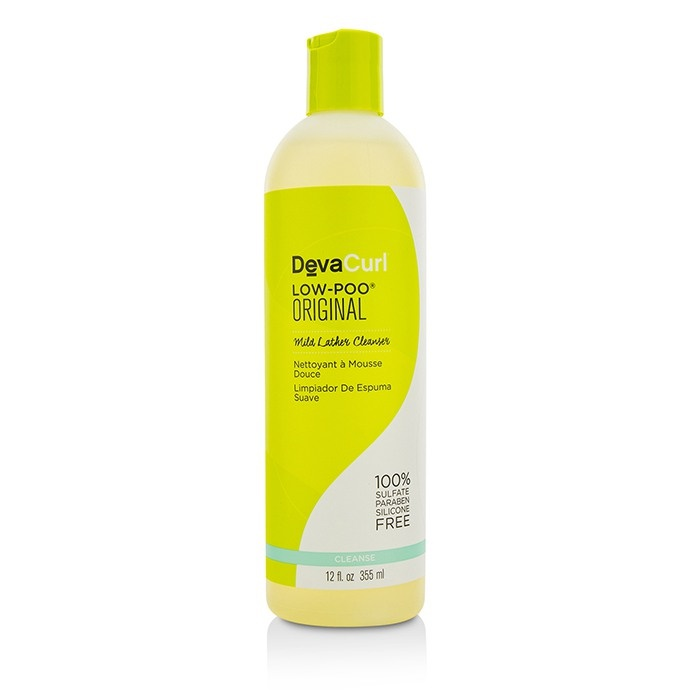 DevaCurl Low-Poo Original (Mild Lather Cleanser - For Curly Hair)
