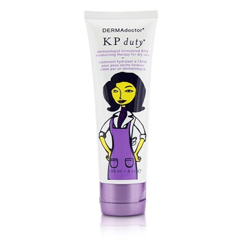 DERMAdoctor KP Duty Dermatologist Formulated AHA Moisturizing Therapy - For Dry Skin (Unboxed)