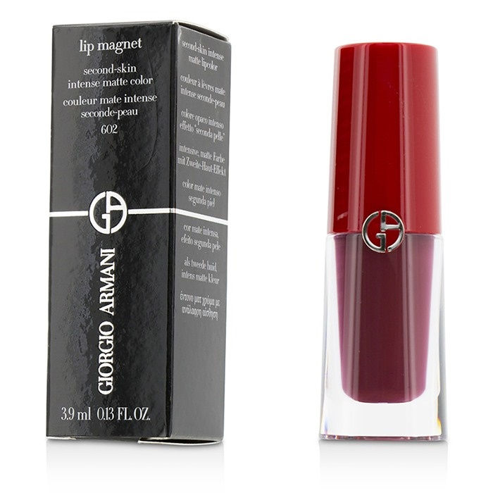 Giorgio Armani Lip Magnet Second Skin Intense Matte Color - # 602 Night Viper