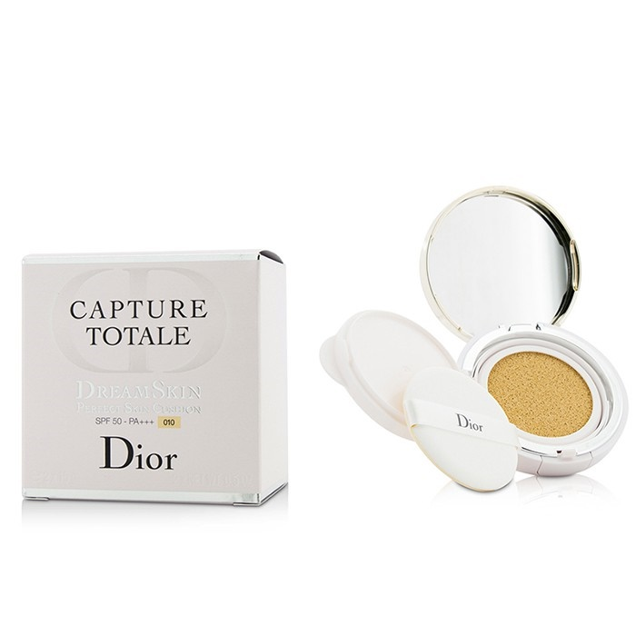 Christian Dior Capture Totale Dreamskin Perfect Skin Cushion Spf 50 With Extra Refill 010 Makeup