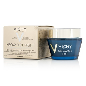 Vichy Neovadiol Night Compensating Complex Post-Menopausal Replensishing Care - For Sensitive Skin
