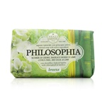 Nesti Dante Philosophia Natural Soap - Breeze - Citrus Peel, Red Basil & Lime With Chlorophyll & Bamboo