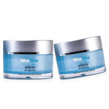 Bliss Blisslabs Active 99.0 Anti-Aging Series Multi-Action Day Cream Duo Pack