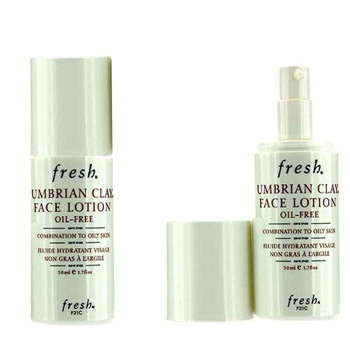 Fresh Umbrian Clay Oil-Free Face Lotion Duo Pack - For Combination to Oily Skin