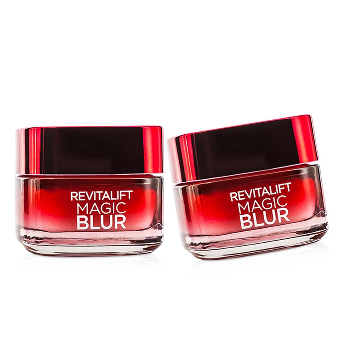 L'Oreal RevitaLift Magic Blur Duo Pack - Blurring & Anti-Aging Moisturiser