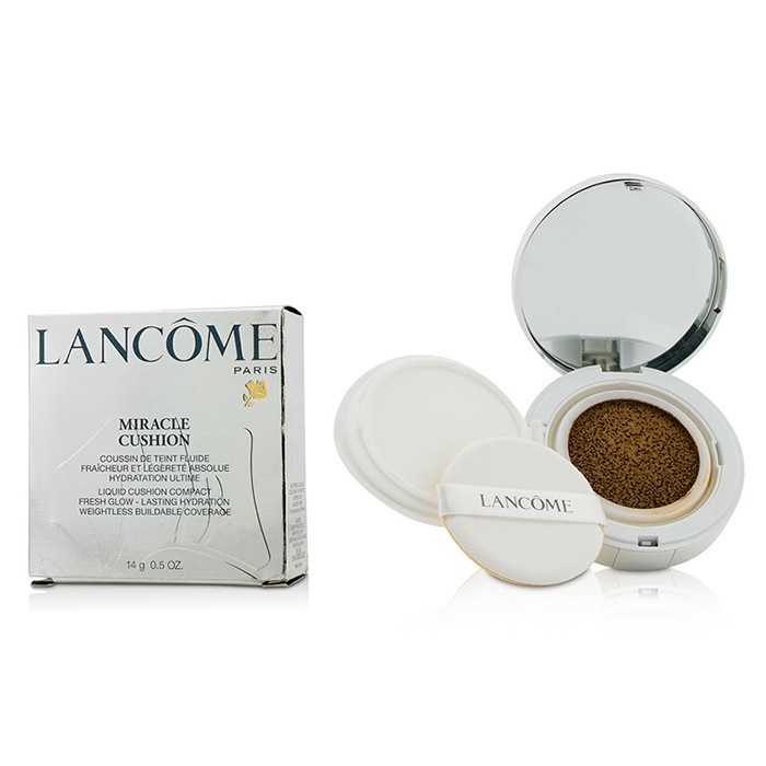 Lancome Miracle Cushion Liquid Cushion Compact - # 500 Suede W (US Version)