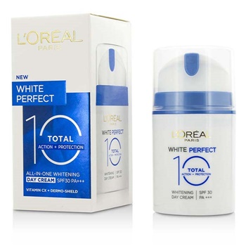 L'Oreal White Perfect Total 10 Whitening Day Cream SPF30 (Exp. Date: 04/2017)