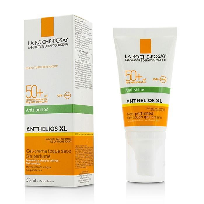Kem chống nắng giúp kiểm soát bóng nhờn và bảo vệ da trước tác hại của tia UVB & UVA SPF 50+ La Roche Posay Anthelios Dry Touch 50ML