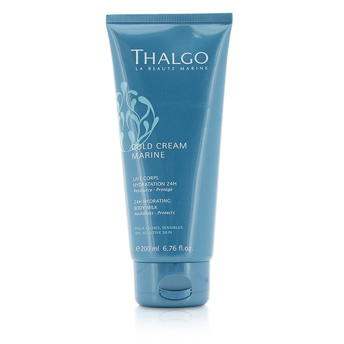 thalgo cold cream marine 24h hydrating body milk for dry sensitive skin the beauty club. Black Bedroom Furniture Sets. Home Design Ideas
