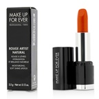 Make Up For Ever Rouge Artist Natural Soft Shine Lipstick - #N43 (Orange)