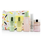Clinique Travel Set: Sonic Facial Soap + Clarifying Lotion 3 + DDMG + Smart Serum + Moisture Surge Intense +