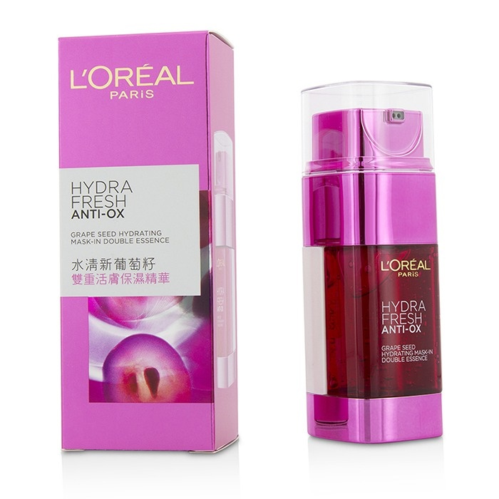 L'Oreal Hydrafresh Anti-Ox Grape Seed Hydrating Mask-In Double Essence