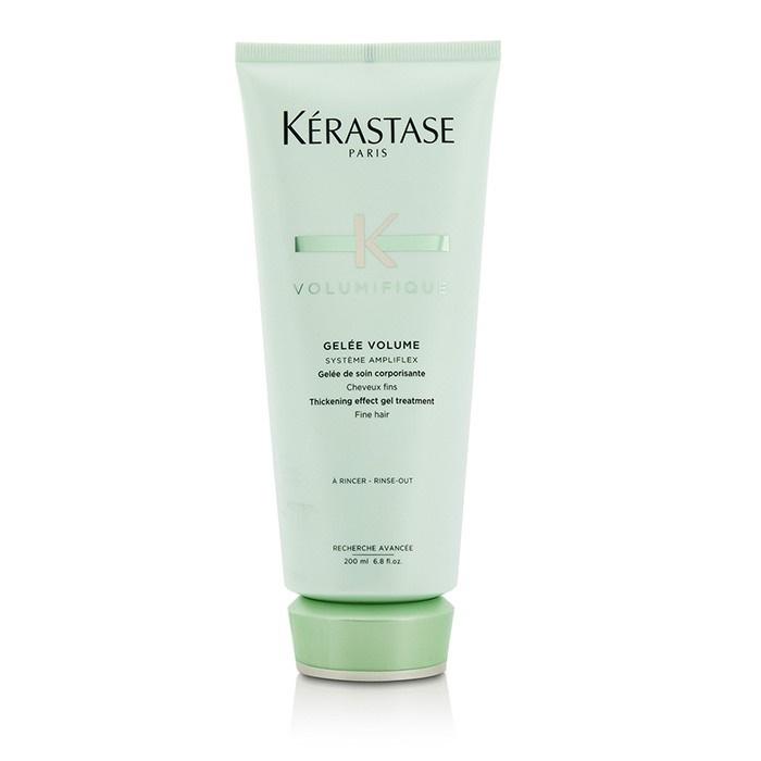 Kerastase resistance volumifique thickening effect gel treatment for fine hair the beauty - Kerastase salon treatment ...