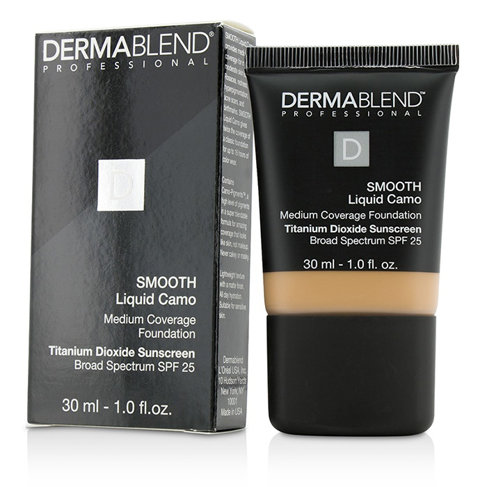 Dermablend Smooth Liquid Camo Foundation SPF 25 (Medium Coverage) - Honey Beige (50C)
