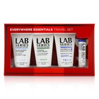 Aramis Lab Series Travel Set: Multi-Action Face Wash 30ml + Face Lotion 30ml + Shave cream 30ml + Lip Balm 4.3g