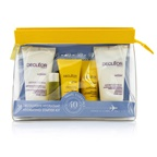 Decleor Hydrating Starter Kit: Cleansing Mousse + Essential Serum 5ml + Light Cream 15ml + Body Milk 50ml + Bag
