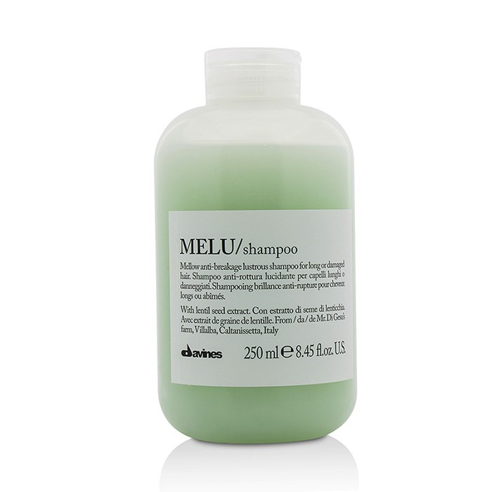 Davines Melu Shampoo Mellow Anti-Breakage Lustrous Shampoo (For Long or Damaged Hair)
