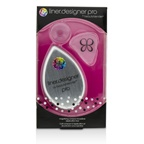 BeautyBlender Liner Designer (1x Eyeliner Application Tool, 1x Magnifying Mirror Compact, 1x Suction Cup) - Pro (White)