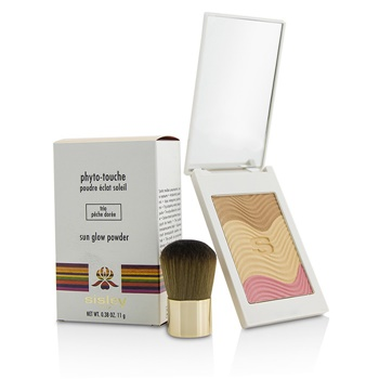 Sisley Phyto Touche Sun Glow Powder With Brush - # Trio Peche Doree