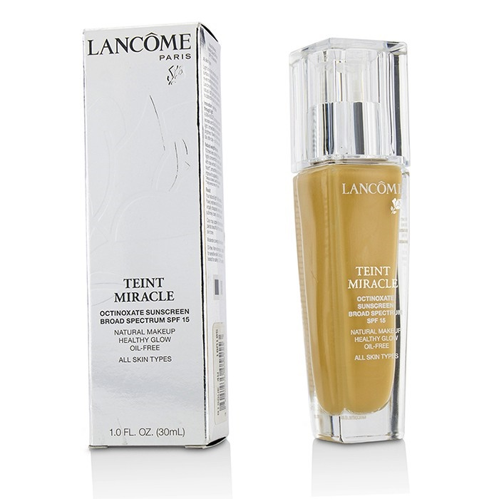 Lancome Teint Miracle Natural Healthy Glow Makeup SPF 15 - # 320 Bisque 4W (US Version)