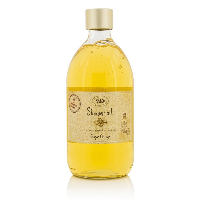 Sabon Shower Oil - Ginger Orange
